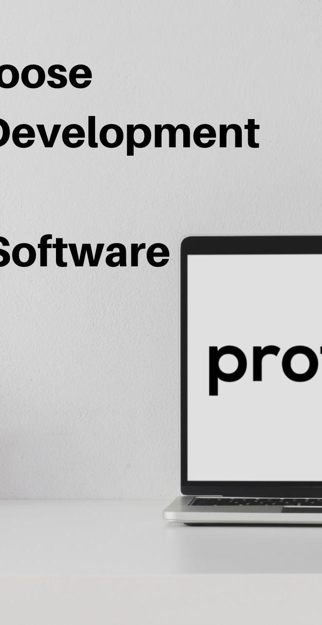 Custom software development, How to choose custom software development over off-the-shelf software